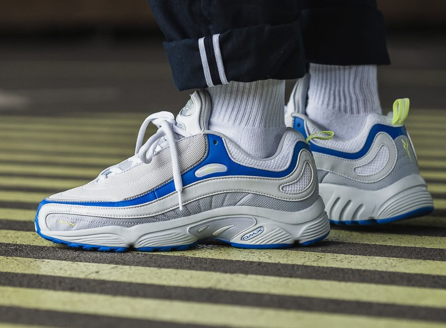 Reebok Daytona DMX 'Spirit White Blue Lemon'
