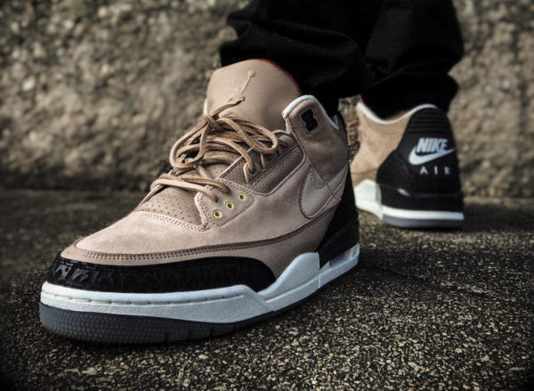 Basket Air Jordan 3 JTH NRG Bio Beige Air Higher