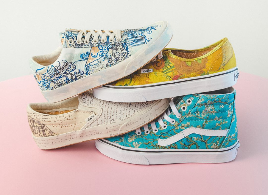 La collection Van Gogh Museum x Vans