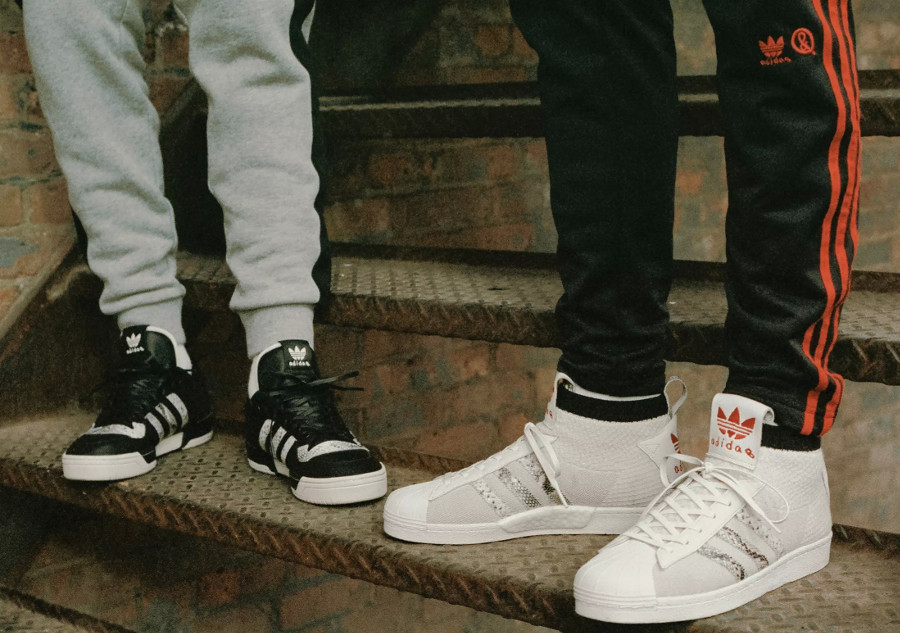 United Arrows & Sons x Adidas Rivalry Lo & Ultra Star