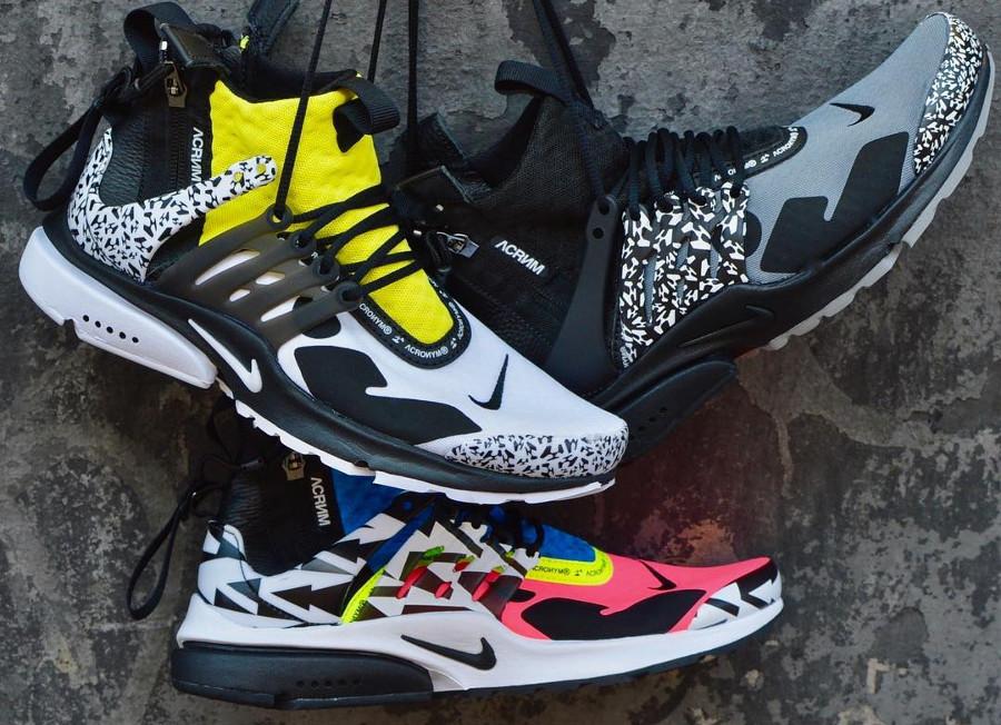 Acrnm x Nike Air Presto Mid 'Infinite Human Potential'