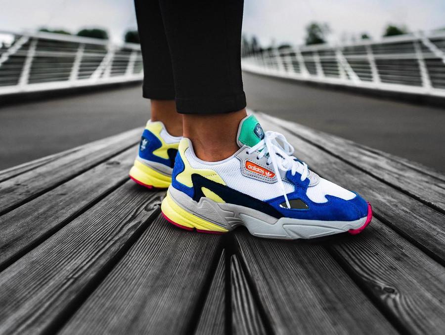 Adidas Falcon W Multicolor - @homeofsneakersblog