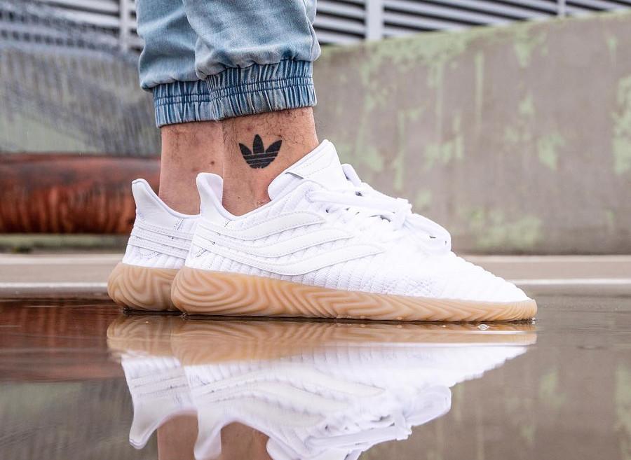 Adidas Sobakov White Gum - @jemuelwong