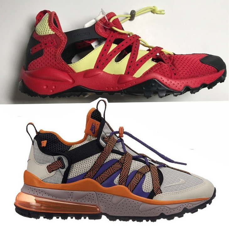 Nike ACG Riverspike 2 vs Nike Air Max 270 Bowfin