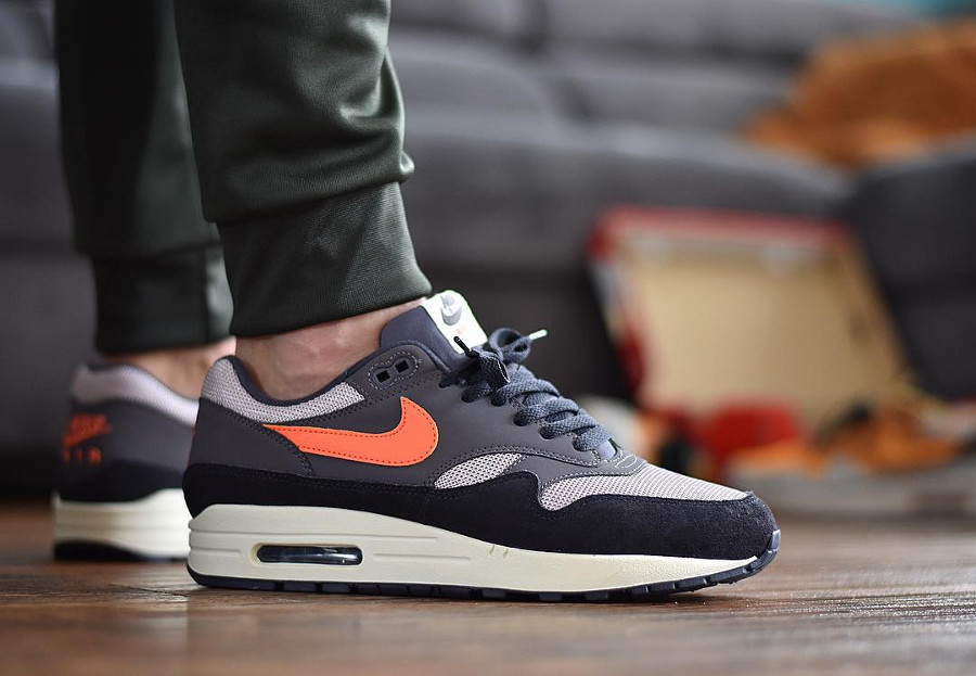 Nike Air Max 1 'Wild Mango Thunder Grey'