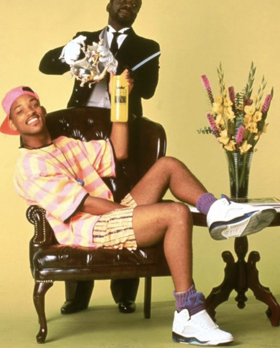 Will-Smith-en-Air-Jordan-5-Grape-sans-lacets
