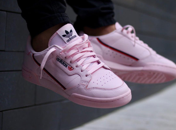 chaussure Adidas Continental 80's Rose 'Clear Pink'