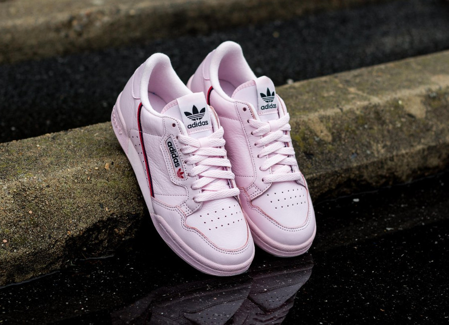 Adidas Continental 80's Rose Clear Pink B41679