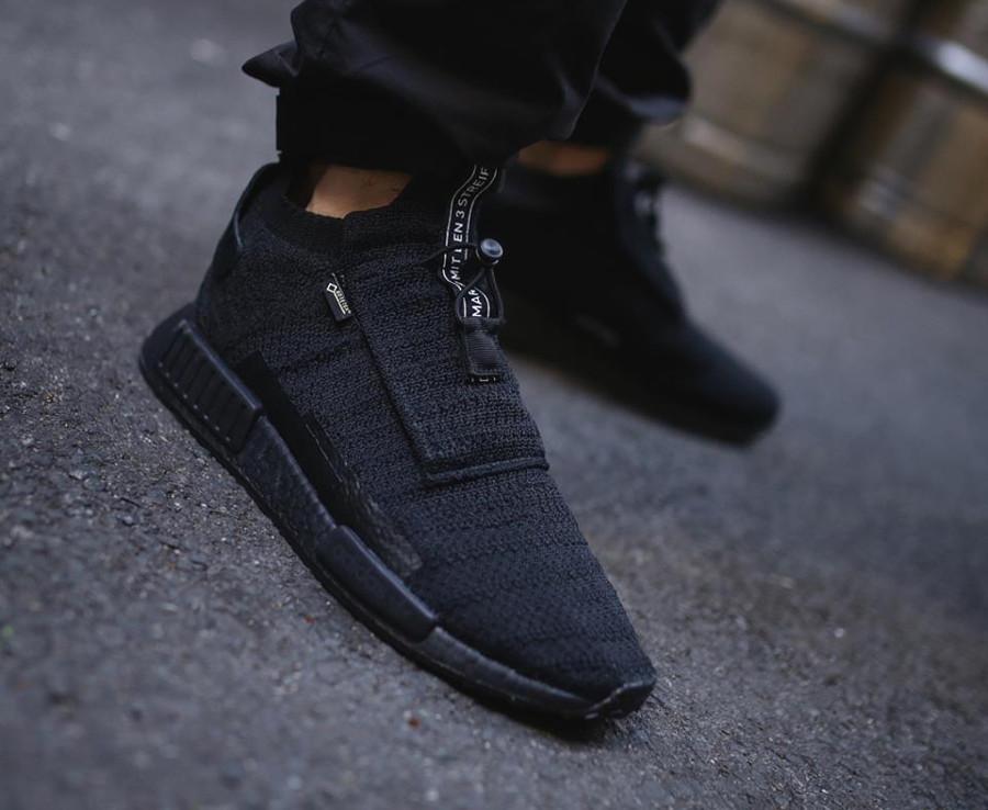 adidas-nmd-ts1-primeknit-homme-toute-noire-et-imperméable (7)