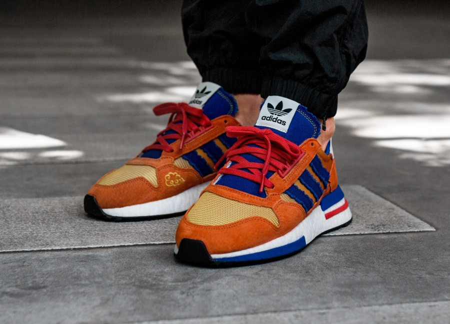 Dragon Ball Z x Adidas ZX500 RM 'Son Goku'