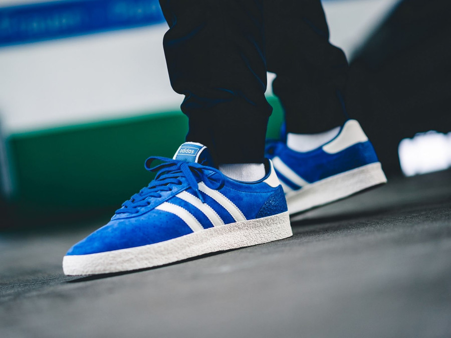 Adidas Munchen Super 72 SPZL 'Blue/White & Intense Green'