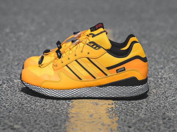 Livestock x Adidas Consortium Ultra Tech GTX  Yellow . 28 septembre 2018.  adidas-ultra-tech-2018-jaune-et-noire-B37852 ( 0c90ac5d8