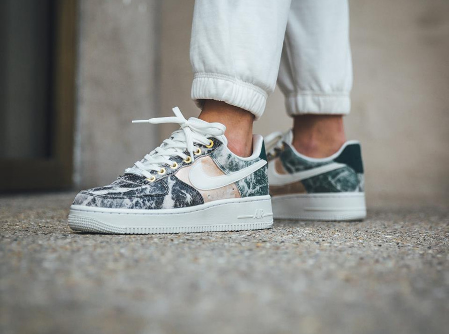nike air force 1 '07 lxx en cuir gris