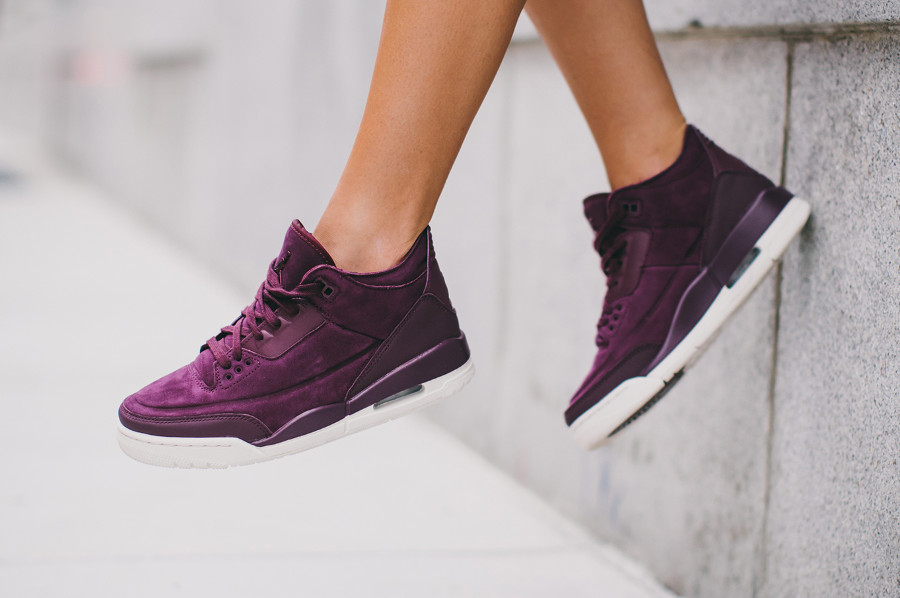 Air Jordan 3 Wmns Retro SE 'Bordeaux Phantom'