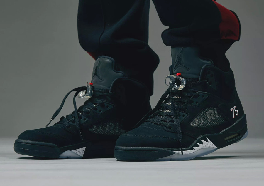 super popular 79f0b 44766 Restock ] Air Jordan 5 Retro PSG 75 'Ici c'est Paris ...