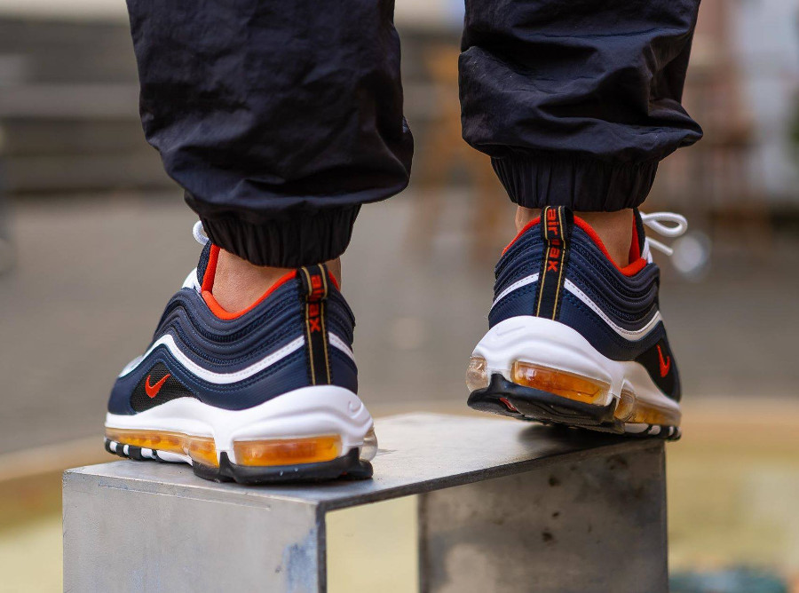 Que vaut la Nike Air Max 97 'Midnight Navy Habanero Red