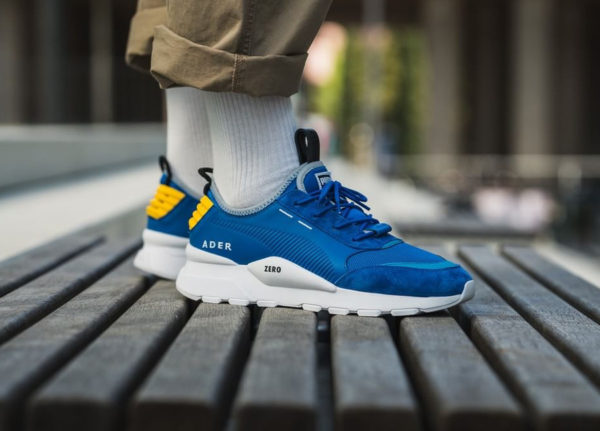 Puma RS-0 Ader Error Zero Lapis Blue on feet (367198_01)