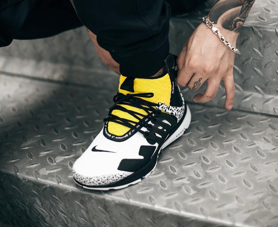 Nike Air Presto Mid Utility x Acronym Un avenir au visage familier on feet