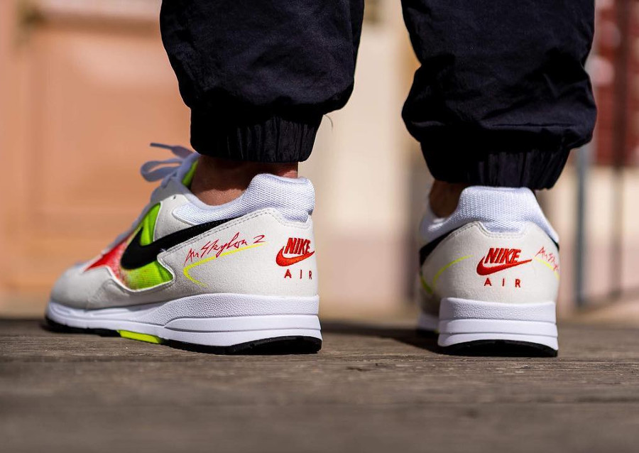 Nike Air Skylon II 2018 'Volt Habanero Red'