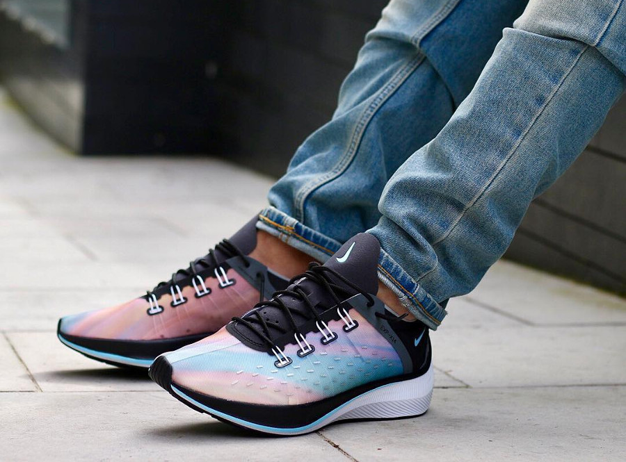 chaussure Nike EXP X14 Sunset Multicolor ( BQ6972-001)