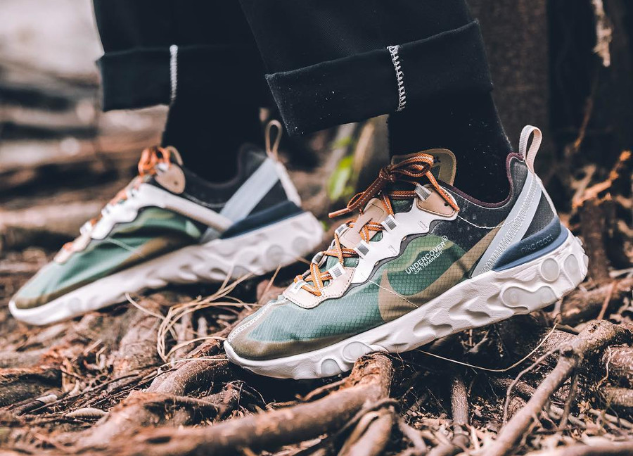 Undercover x Nike React Element 87 'Green Mist Linen'