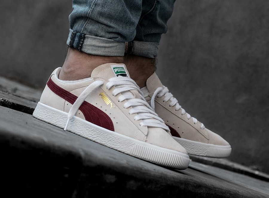 Puma Suede 90681 Whisper White Pomegranate 'From the archive'