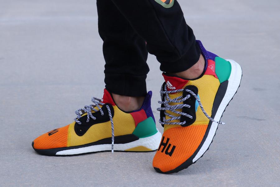 Adidas Solar Hu Glide Multicolor