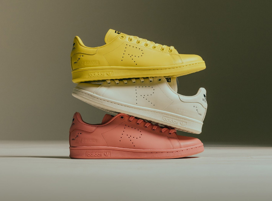 La collection Raf Simons x Adidas Stan Smith automne hiver 2018