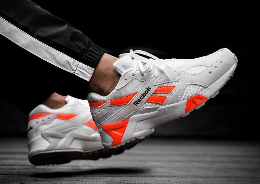 Reebok Aztrek 'White Solar Orange'