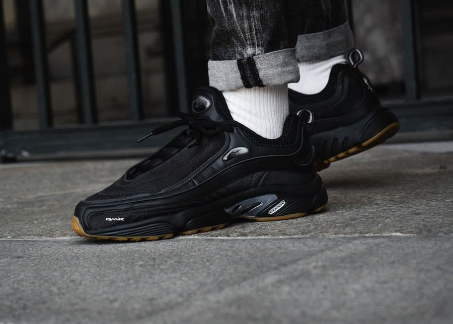 los angeles 72233 92c1d Reebok Daytona DMX  Black Gum