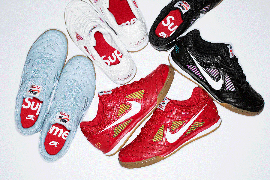 Supreme x Nike SB Gato 'World Famous'