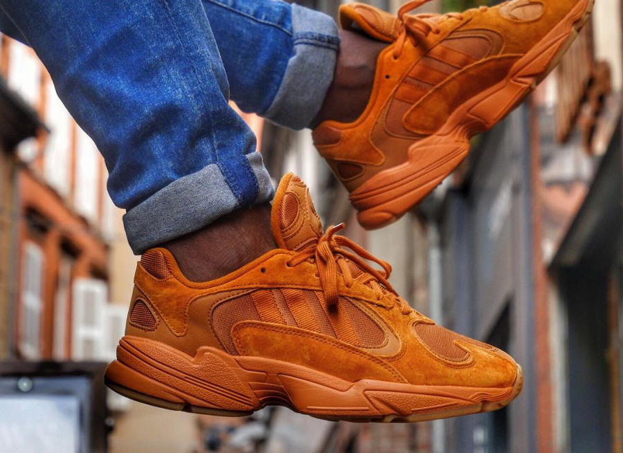Size? x Adidas Originals Yung-1 'Craft Ochre'