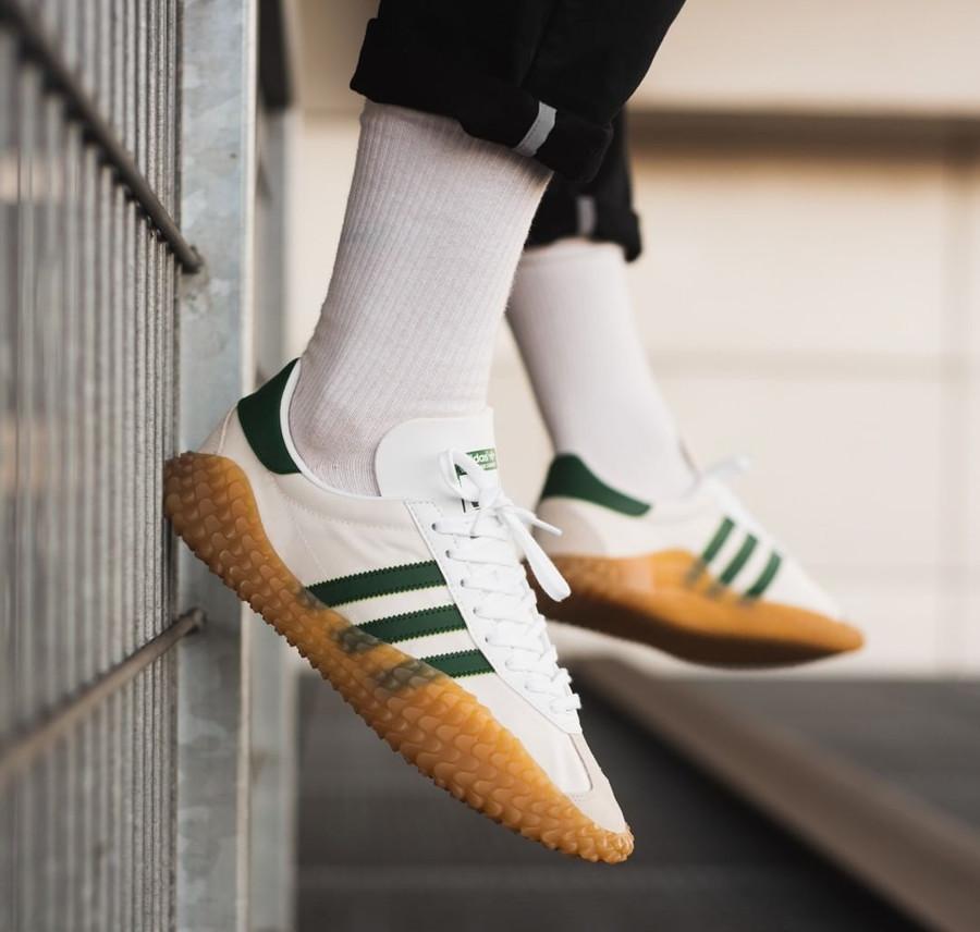 Adidas Originals Kamanda x Country blanche et verte (1)