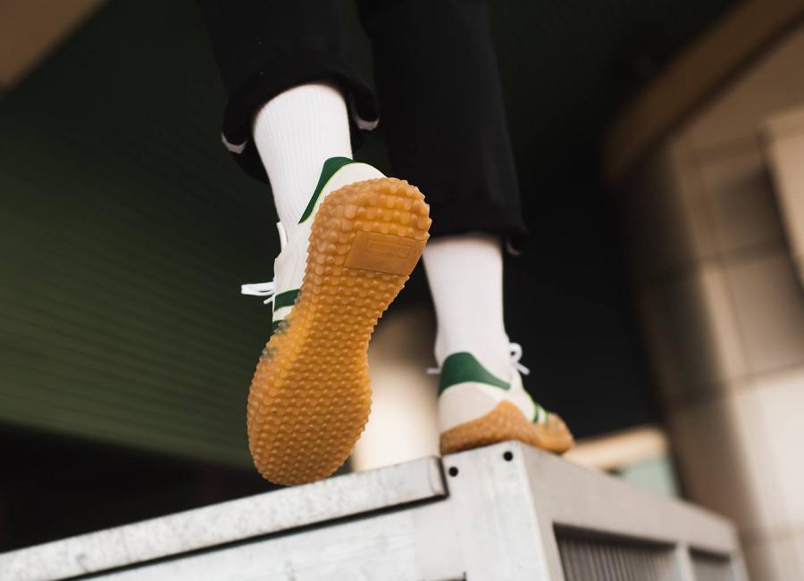 Adidas Originals Kamanda x Country blanche et verte (2)