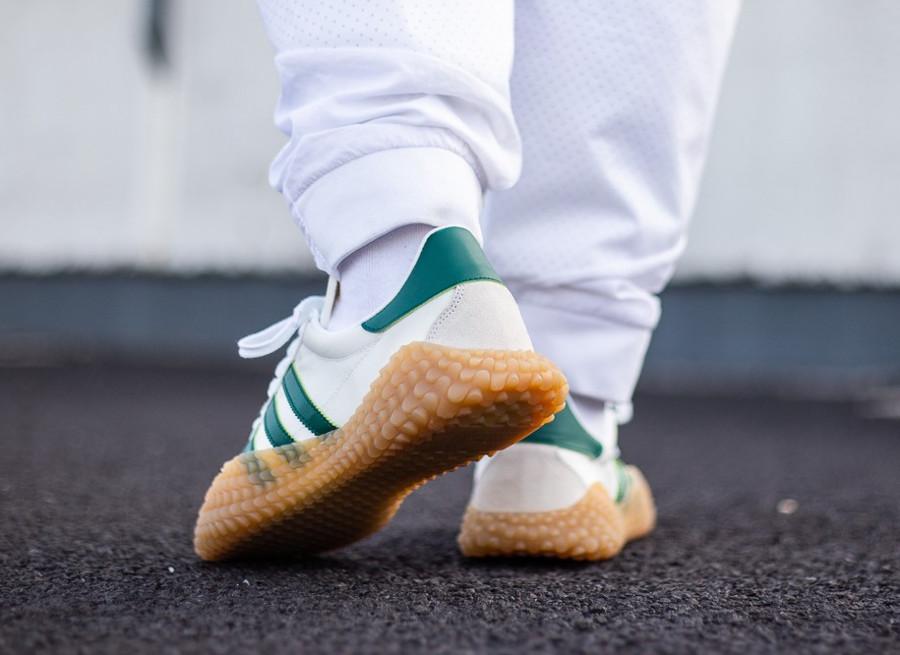 Adidas Originals Kamanda x Country blanche et verte (5)