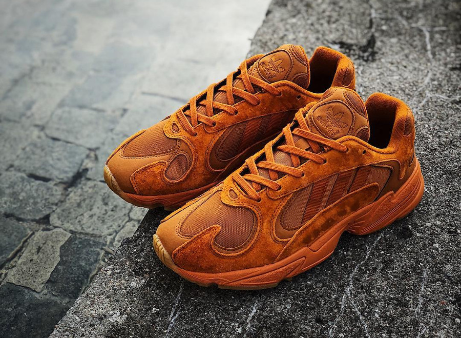 Adidas Originals Yung-1 toute orange (exclusivité Size) (0)