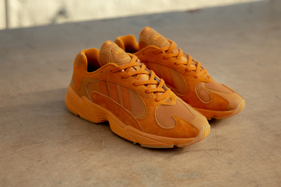 Adidas Originals Yung-1 toute orange (exclusivité Size) (2)