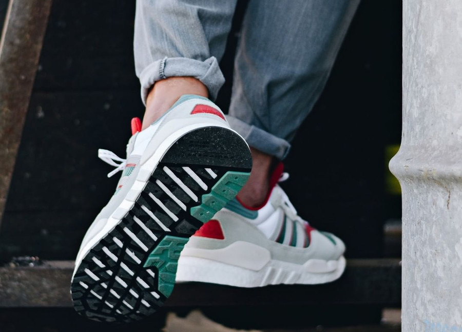 Avis] Adidas ZX930XEQT Boost 'Never Made Sole Swap Pack'