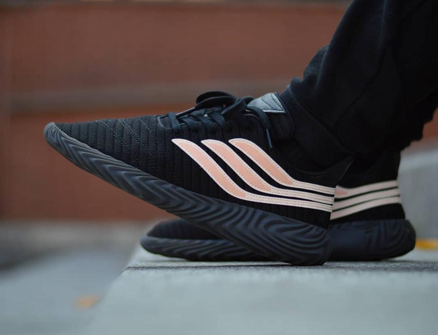 Adidas Sobakov Black Clear Orange - @apollo91000