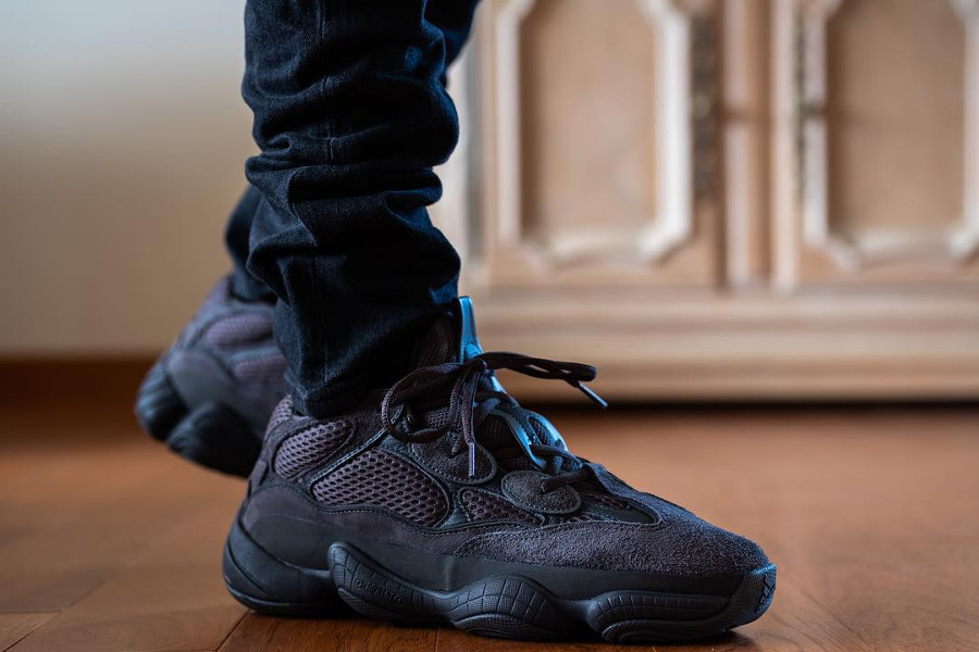 Adidas Yeezy 500 Desert Rat Triple Black - @dr_punch