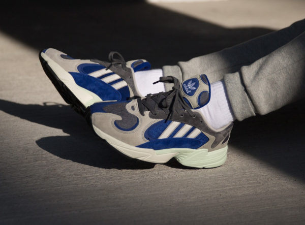 Adidas Yung-1 Alpine Sesame Grey Five