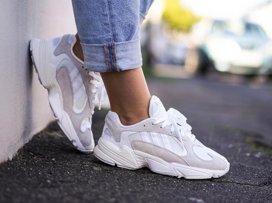 Adidas Yung-1 Triple White - @_foolishthings