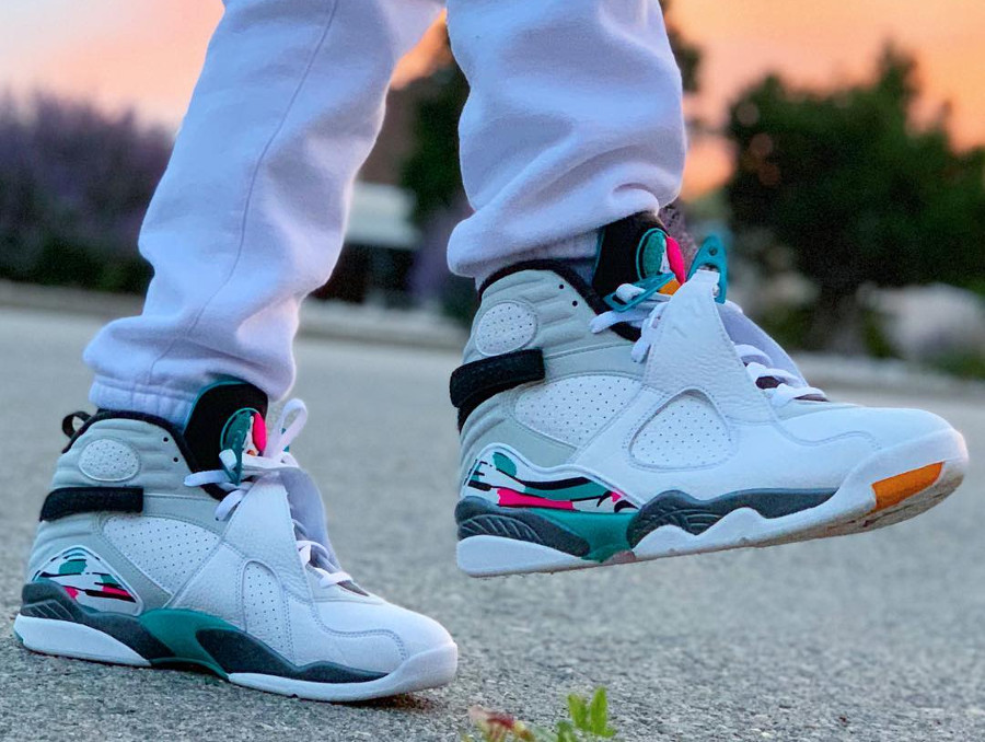 Air Jordan 8 Retro Turbo Green - @trizzle5586