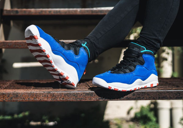 Chaussure Air Jordan 10 X Tinker 'Air Huarache Light Ultramarine'