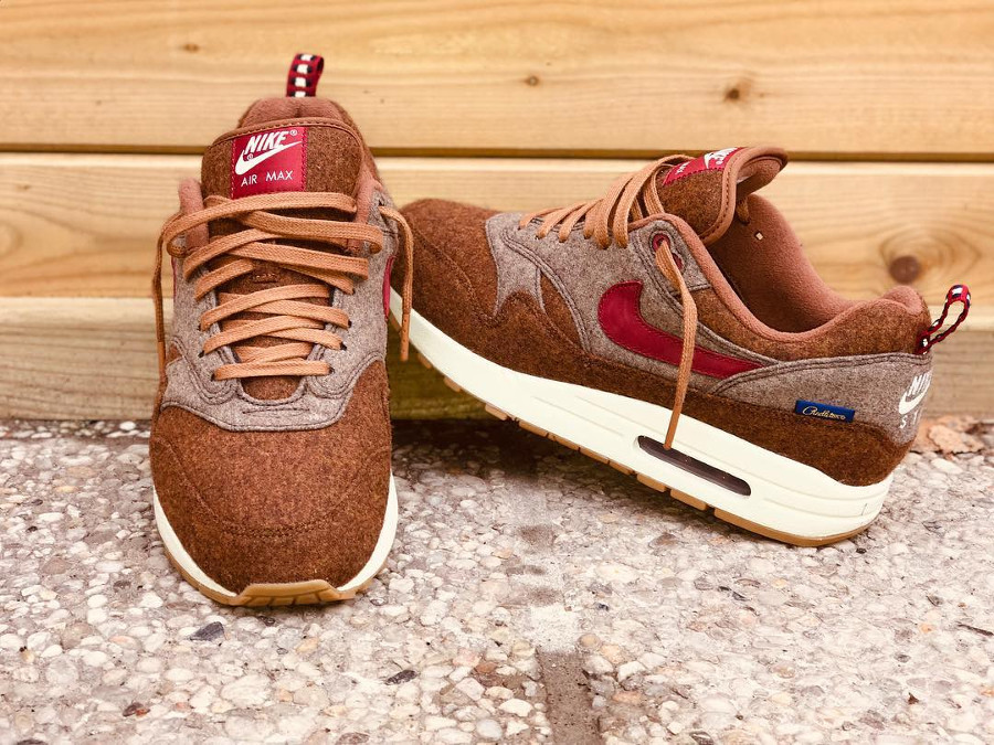 Air Max 1 ID Pendleton Pueblo Brown - @ksmk2gti