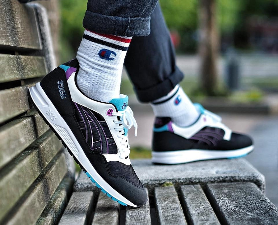 Asics Gel Saga Black Orchid - @highlyakicktive