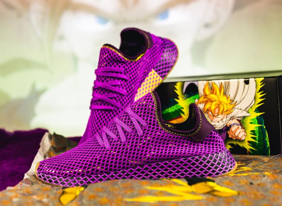 Dragon Ball Z x Adidas Deerupt violet Sangohan (1)