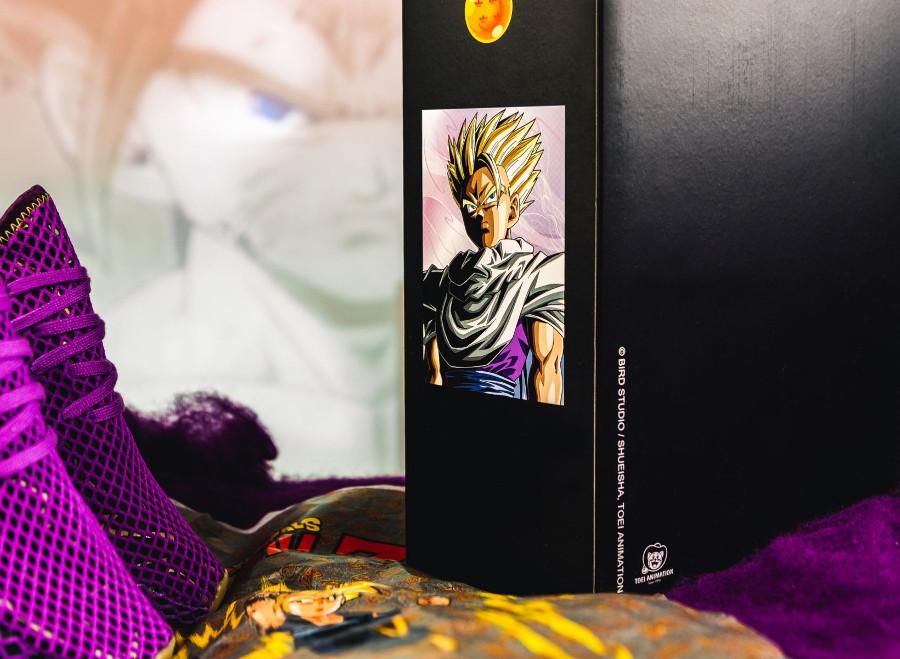 Dragon Ball Z x Adidas Deerupt violet Sangohan (2)