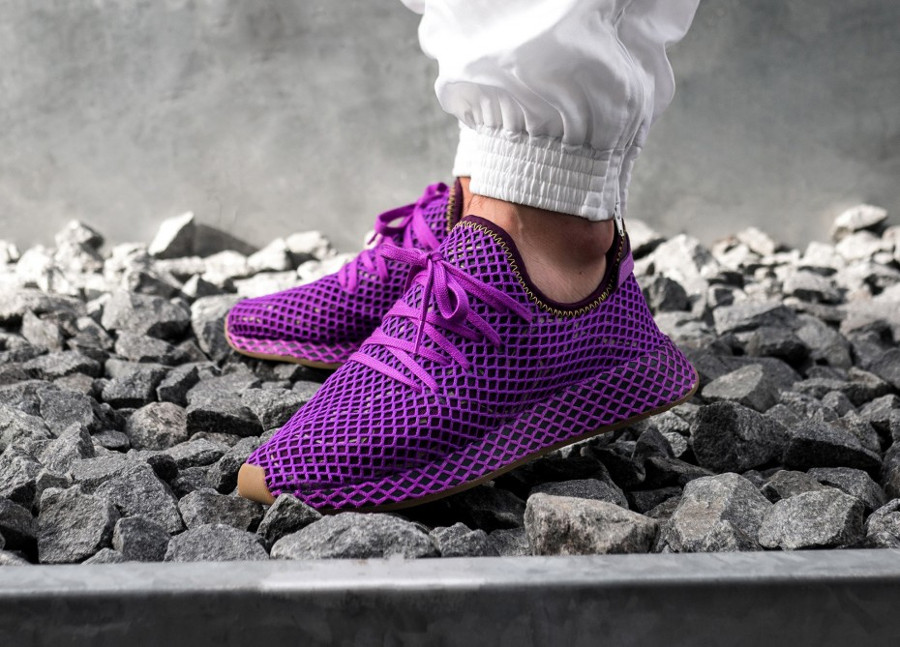 Dragon Ball Z x Adidas Deerupt Shock Purple 'Son Gohan'