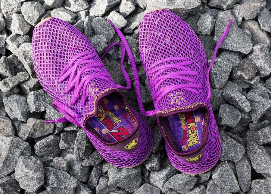 Dragon Ball Z x Adidas Deerupt violet Sangohan (6)